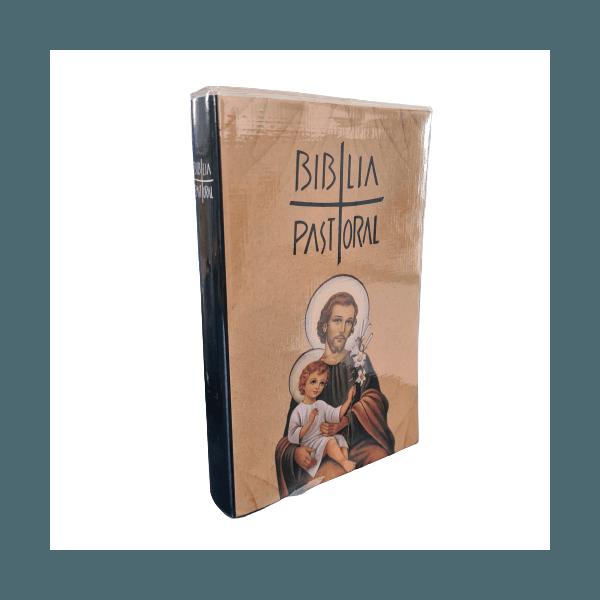 Bíblia Pastoral - Média Capa Cristal -São José