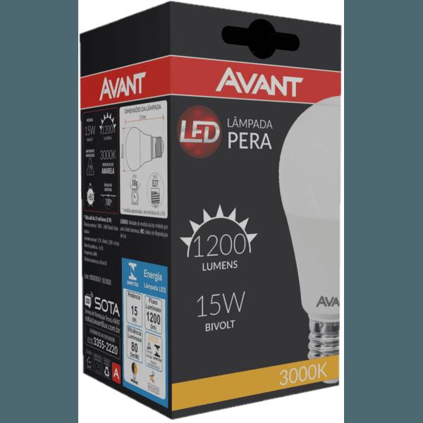 Lâmpada Bulbo LED 15W Amarela 3.000K Bivolt