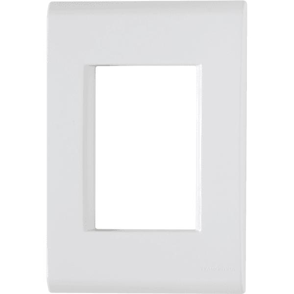 Placa 4x2 com 3 Postos Branco LIZ - Tramontina