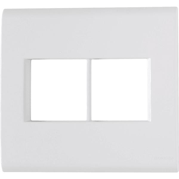 Placa 4x4 com 4 Postos Branco LIZ - Tramontina