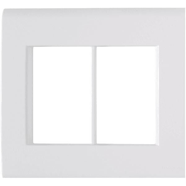 Placa 4x4 com 6 Postos Branco LIZ - Tramontina
