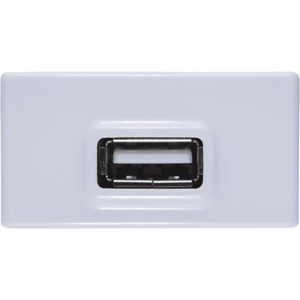 Módulo Tomada USB 2A Branco LIZ - Tramontina