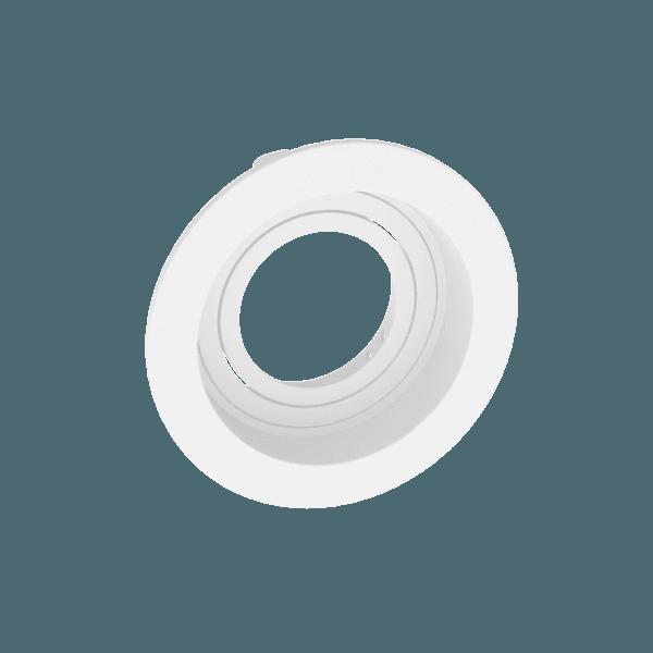 Spot de Embutir MR16 Dicroica Redondo Recuado