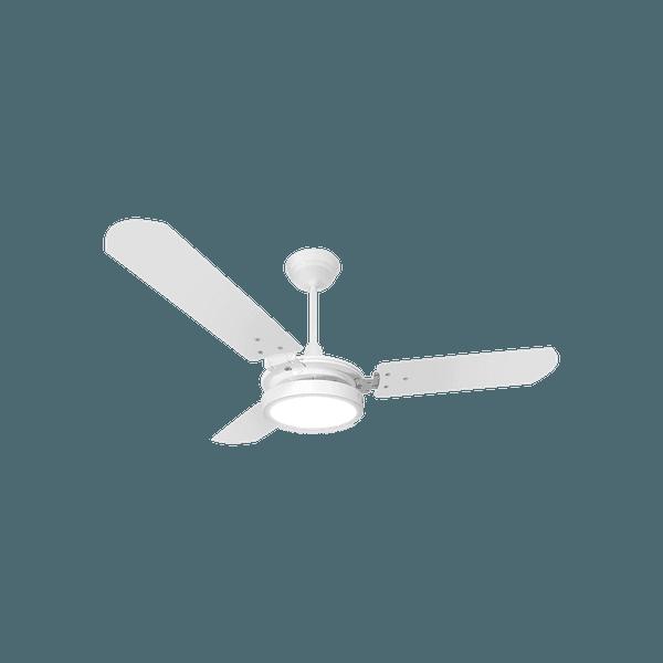 Ventilador de Teto Valen LED 150W 3 Pás Branco 127V