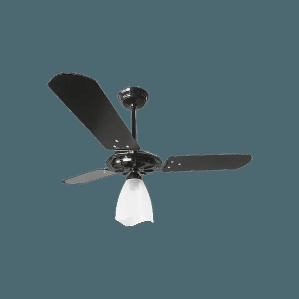 Ventilador de Teto Yris 150W 3 Pás Preto 127V