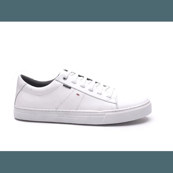 Sapatênis Austin Em Couro Branco Império - At2103-branco