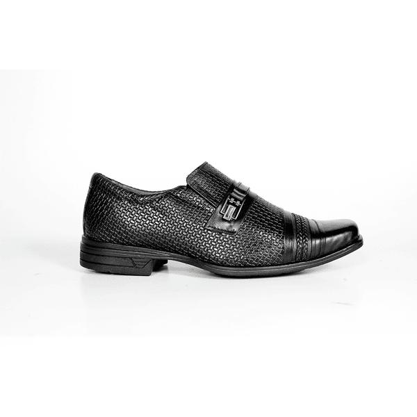 Sapato Social Masculino Preto com Trisse