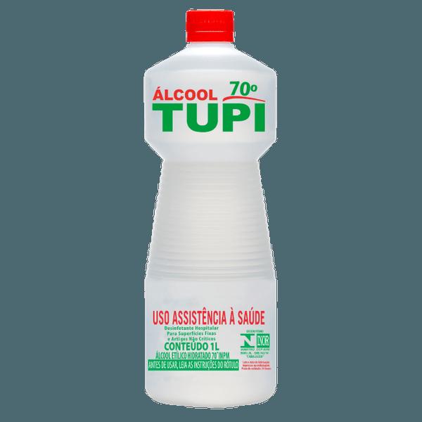 ALCOOL LIQUIDO 70% 01 LITRO