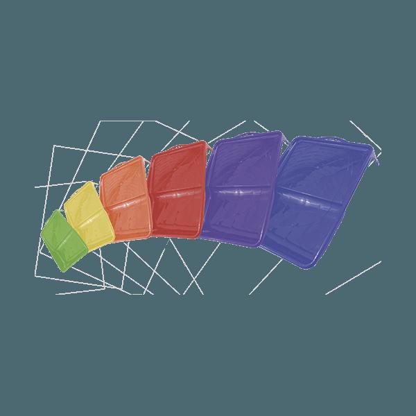 Bandeja de Pintura Colorida 23cm 2330 Tigre