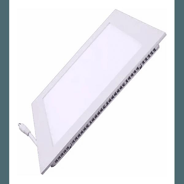 LUMINARIA LED EMBUTIR QUADRADA 6500K BR