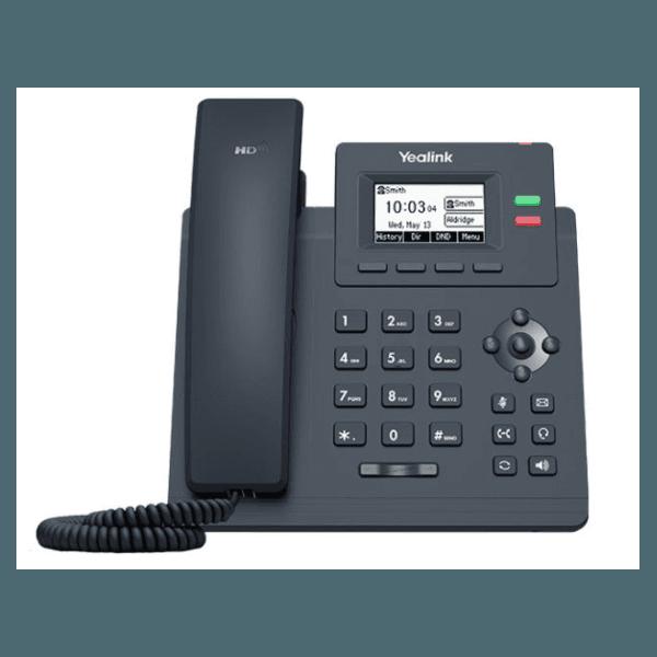 T31P - Telefone IP Yealink SIP com Fonte