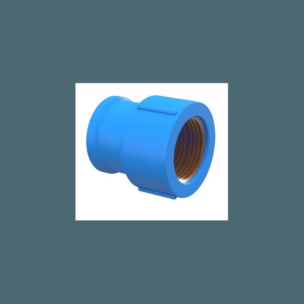 Luva Em PVC Soldável Com Bucha De Latão Azul - Tigre