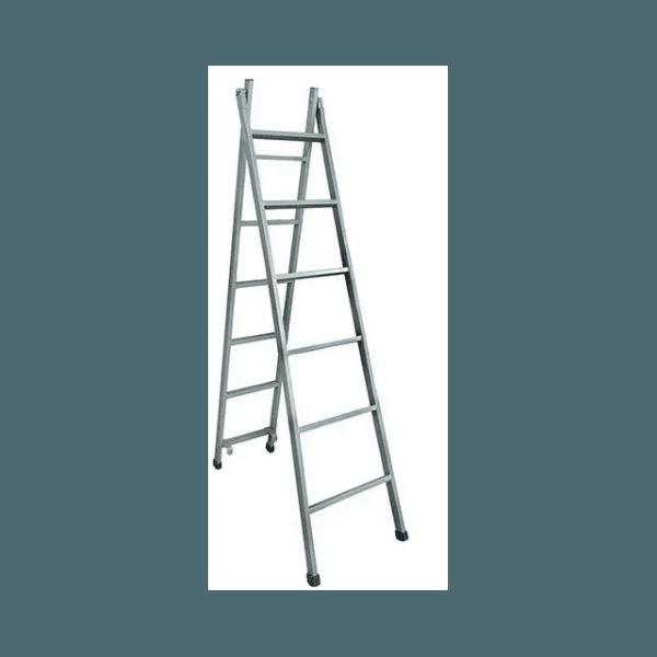Escada 8 Degraus Extensiva Aço