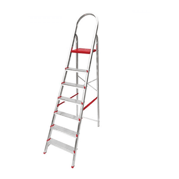 Escada doméstica de alumínio 7 degraus - Ágata