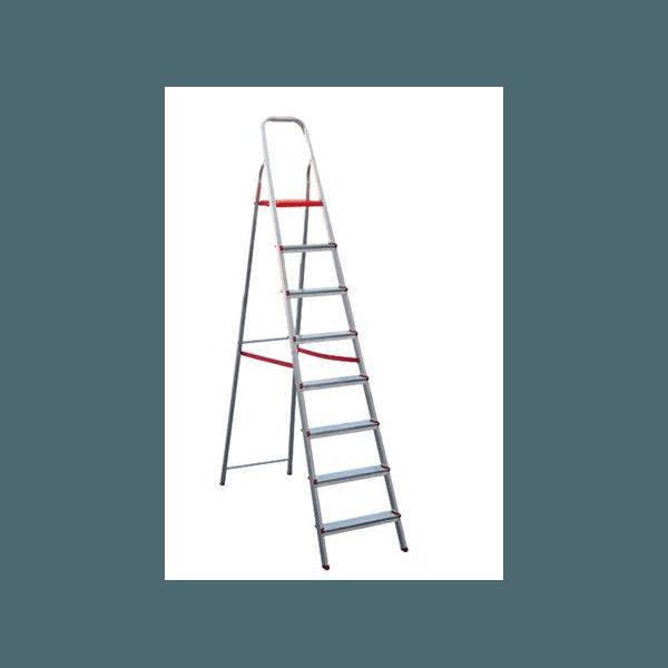 Escada Doméstica de Alumínio 08 Degraus - Ágata