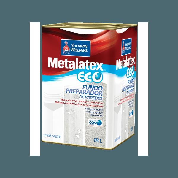 Fundo Preparador de Paredes Metalatex Eco 18L