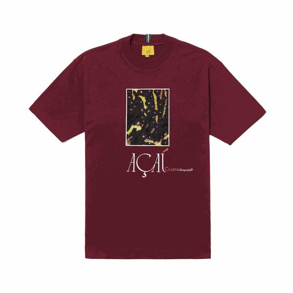Camiseta Class Açai Burgundy