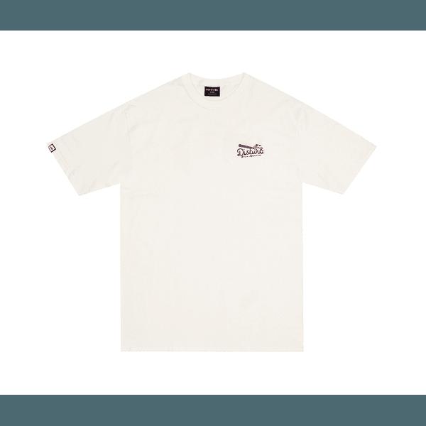 Camiseta Disturb Buon Appetito Off White