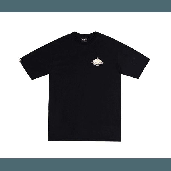 Camiseta Disturb Five Senses Black