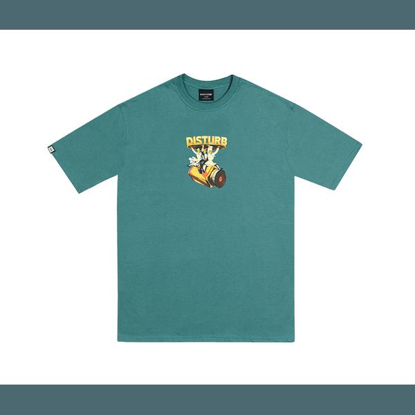 Camiseta Disturb Main Course Green