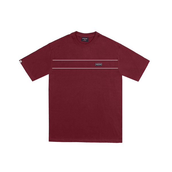 Camiseta Disturb Rubberized Burgundy