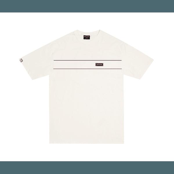 Camiseta Disturb Rubberized Off White