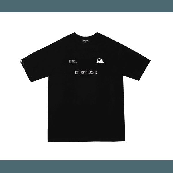 Camiseta Disturb Breaking Beyond Horizon Tee Black