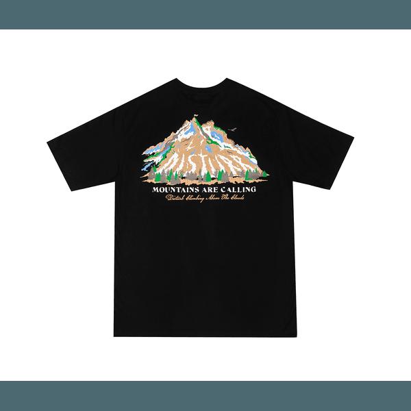 Camiseta Disturb Mountains Are Calling Tee Black