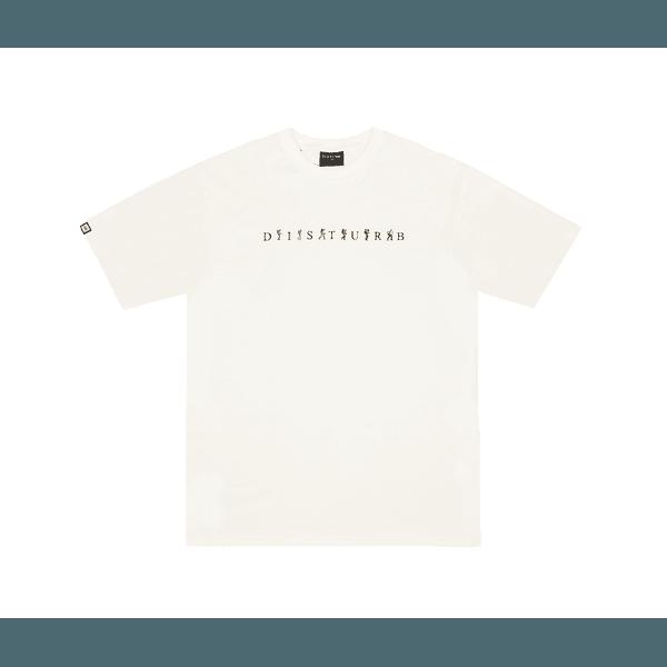 Camiseta Disturb Expedition Tee Off White