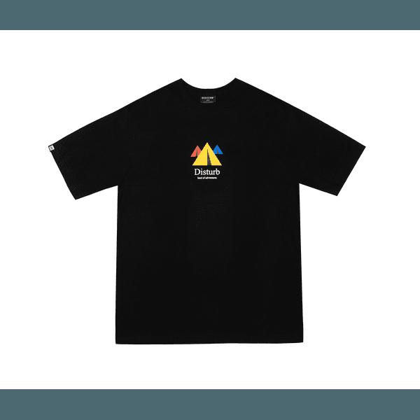 Camiseta Disturb Land Of Adventures Black