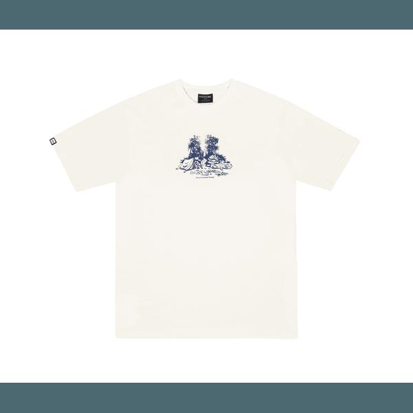 Camiseta Disturb Outdoor living Tee Off White