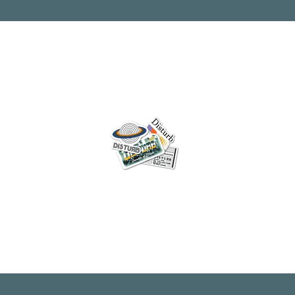 Q2 Stickers Pack Disturb