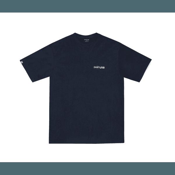 Camiseta Disturb Try Again Blue