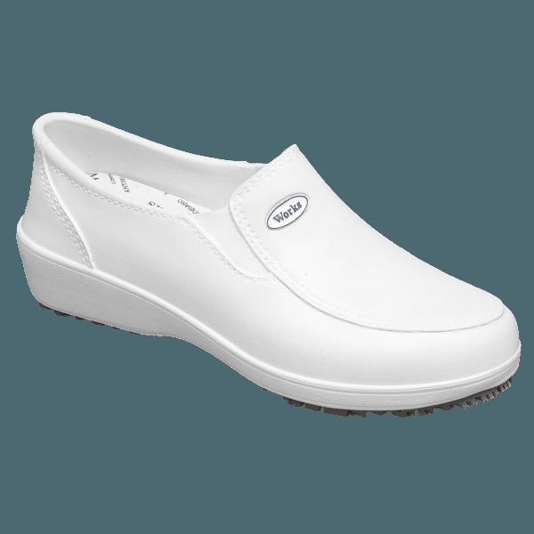 Calçado Ocupacional feminino Branco - Lady