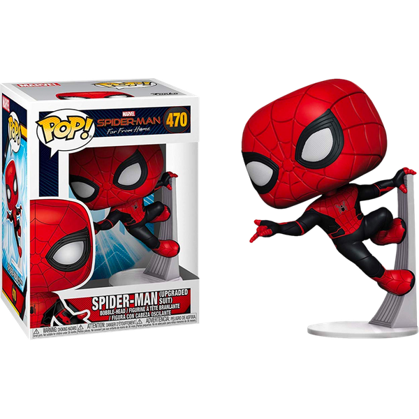 Spider-Man Far From Home Upgraded Suit #470 Funko Pop
