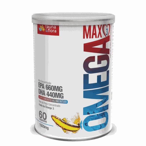 Ômega Max3 500mg - 60 cápsulas