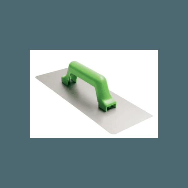 Desempenadeira de Aço Lisa 12x24cm Momfort