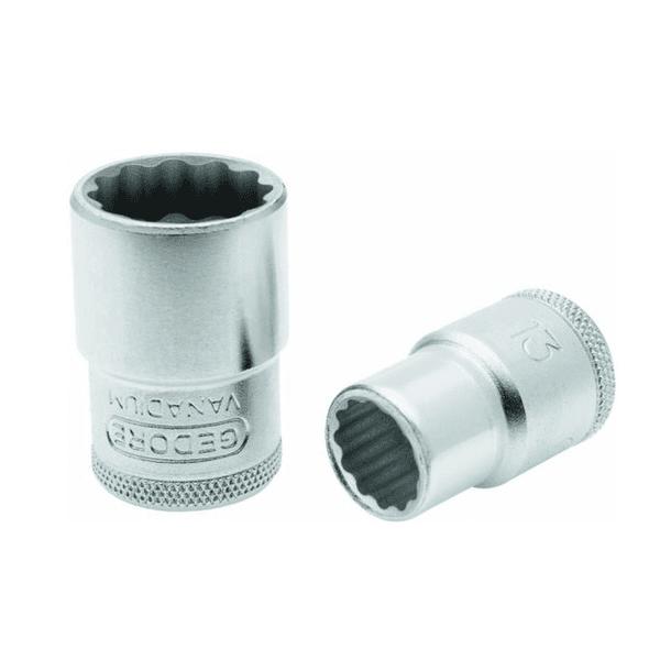 Soquete Estriado Encaixe 1/2 27mm D19-27 Gedore - 015117