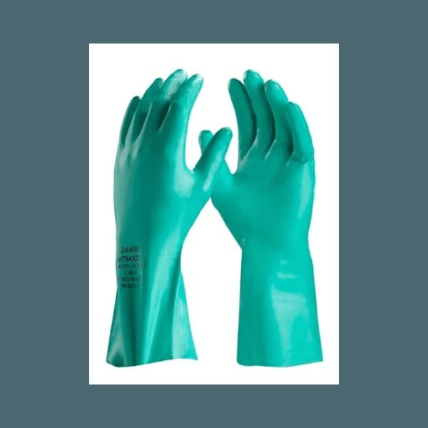 Luva Nitrilica Verde Nitrisolv C/Forro T-G DA36201G Danny CA25313