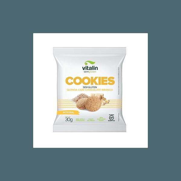 Cookies Quinoa com Chocolate Branco Display 12x30g