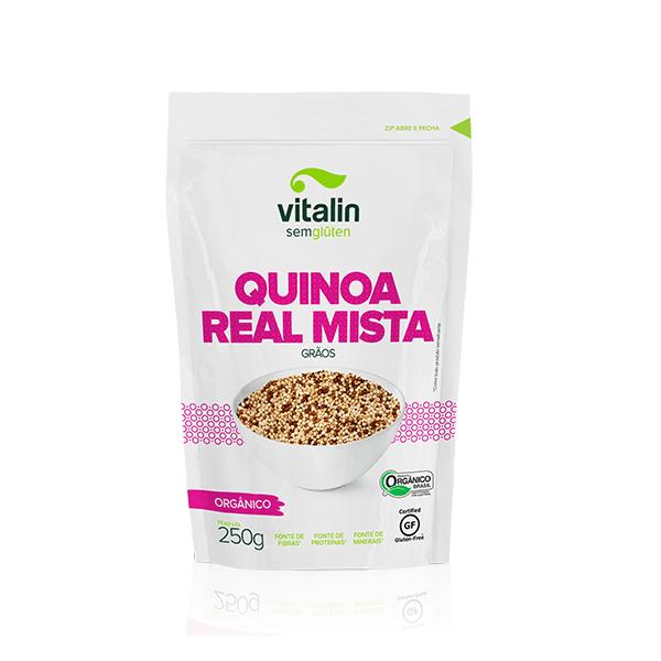 Quinoa Real Mista em Grãos Orgânico 250g