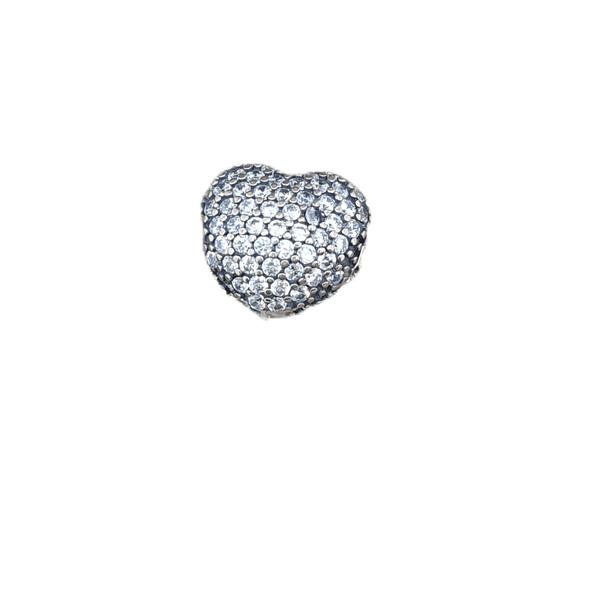 Berloque Prata Coração