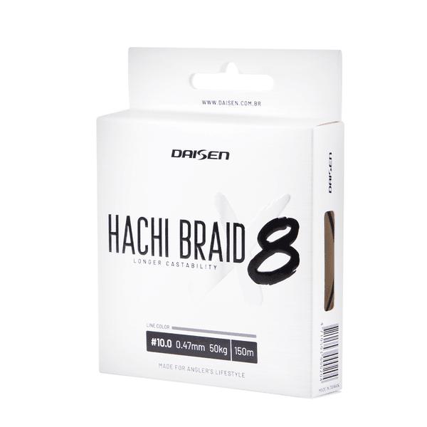 Linha Multifilamento Daisen Hachi Braid 8X 150m