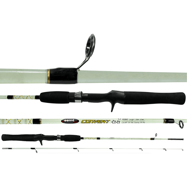 Vara p/ Carretilha Saint Plus Convert 602BC 5-15lbs 1,83m - Ideal para pescaria de Piaus e Piapara