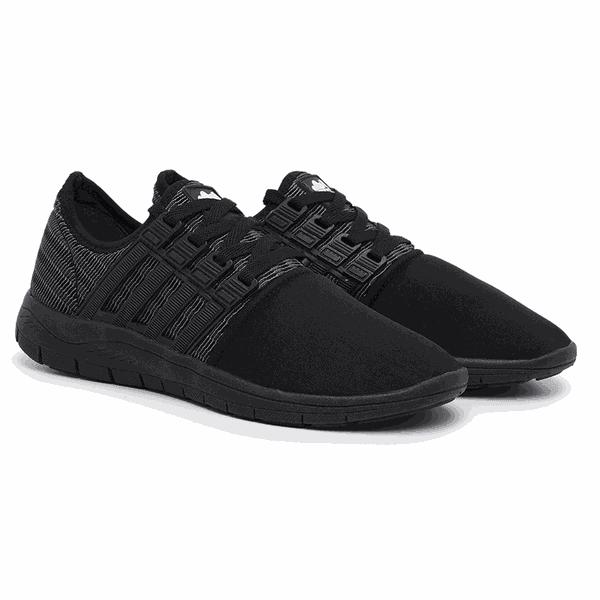 Tênis Caminhada Colors All Black 15008