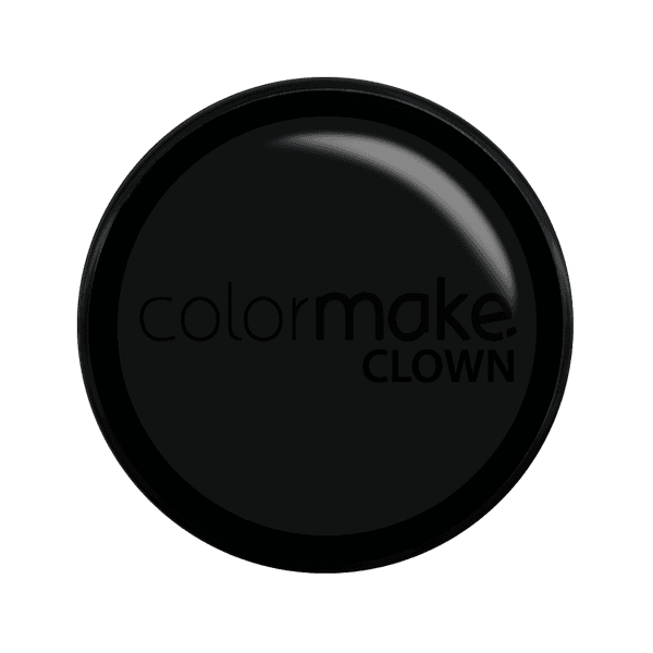 MINI CLOWN MAKEUP COLORMAKE PRETO 8G