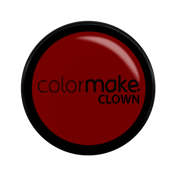 MINI CLOWN MAKEUP COLORMAKE VERMELLHO 8G