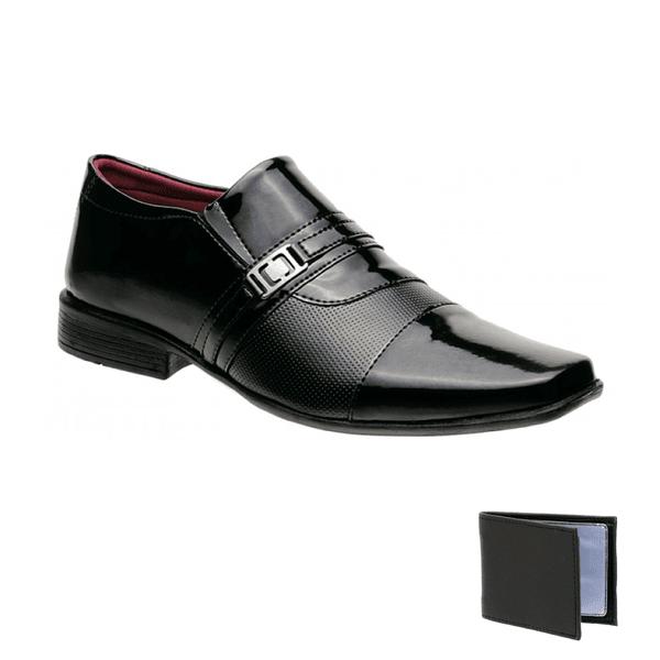 Sapato Social Verniz 839VP