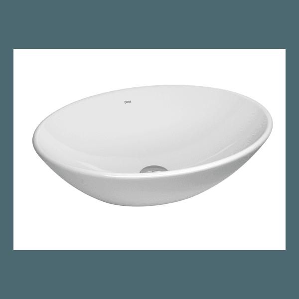 Cuba de apoio oval branca - Deca
