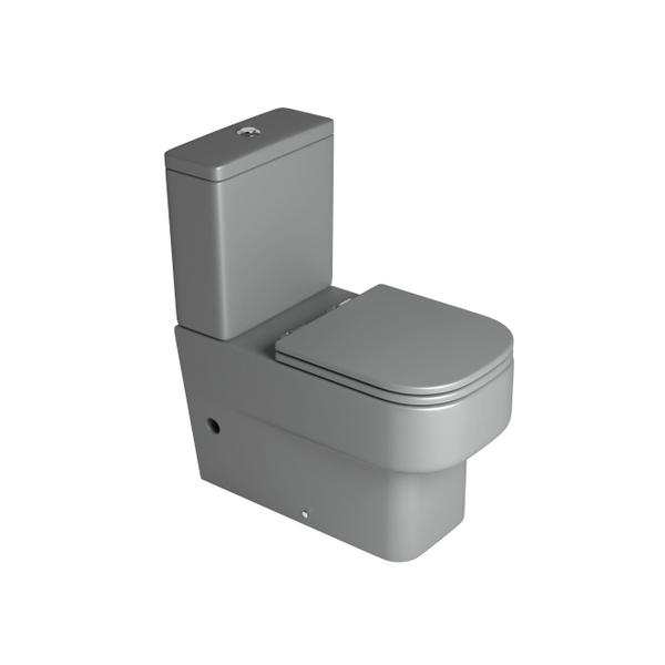 Bacia Deca para Caixa Acoplada Unic Cinza Fosco - P.450.86